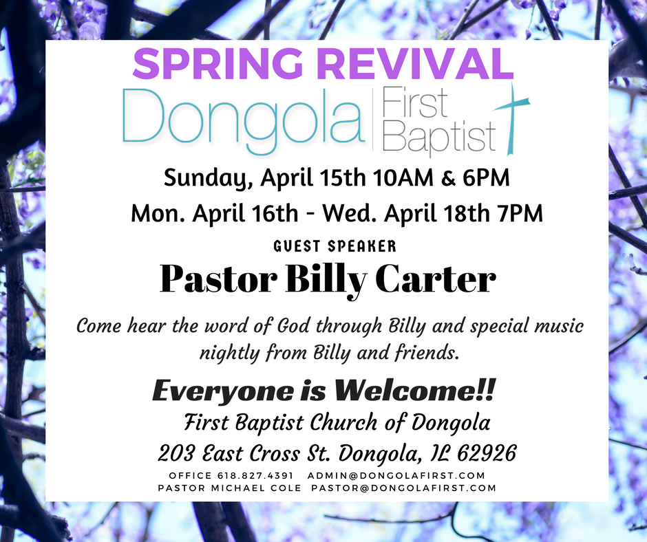 Spring Revival FB